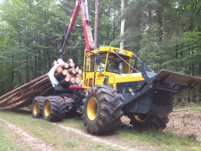 tracteur forestier welte welte w 210