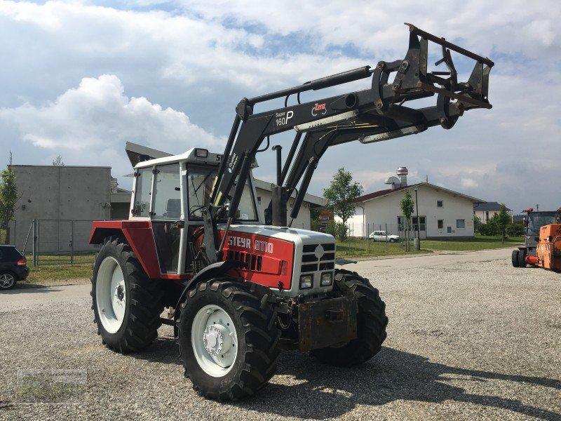 steyr steyr 8110 mit frontlader traktor. Black Bedroom Furniture Sets. Home Design Ideas