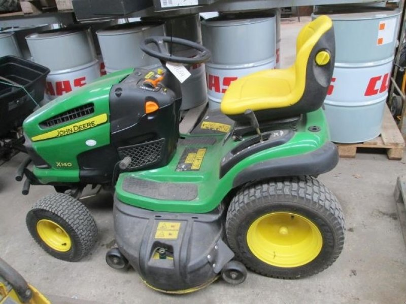 tracteur tondeuse john deere x 140 med 100cm klipper. Black Bedroom Furniture Sets. Home Design Ideas