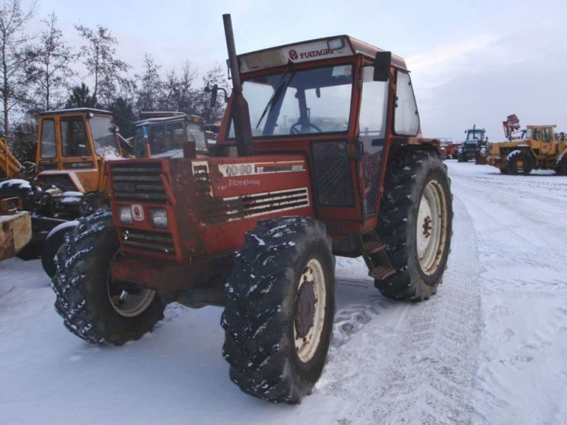 Fiat 100 90 Tractor : Fiat tractor technikboerse
