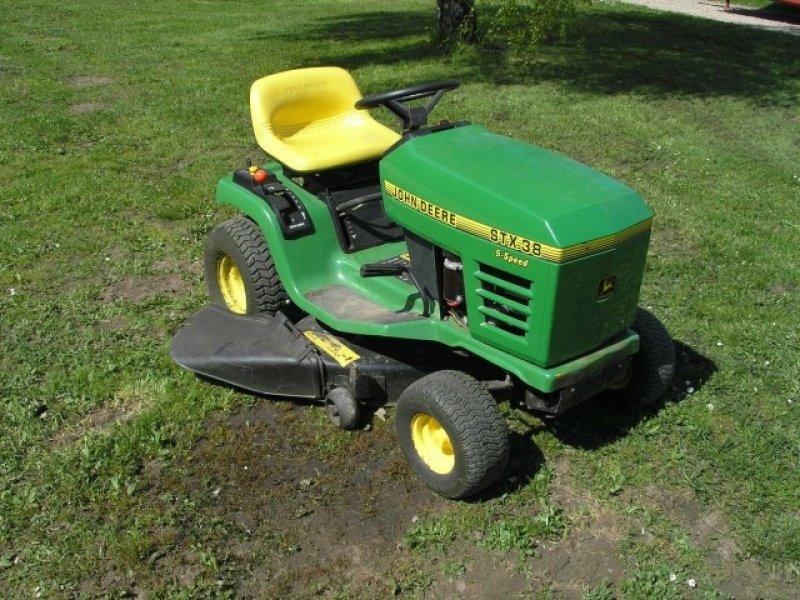 John deere stx38 tracteur tondeuse - Tracteur tondeuse john deere occasion ...