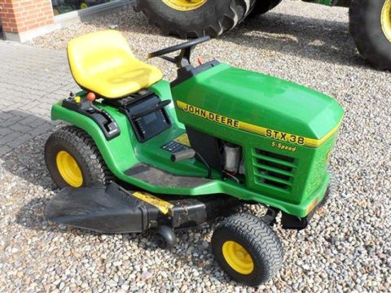 John Deere Stx 38 : John deere stx lawn tractor technikboerse