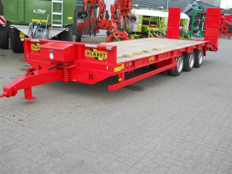 Sonstige 27 ton maskintrailer remorque porte char for Porte char 60 tonnes