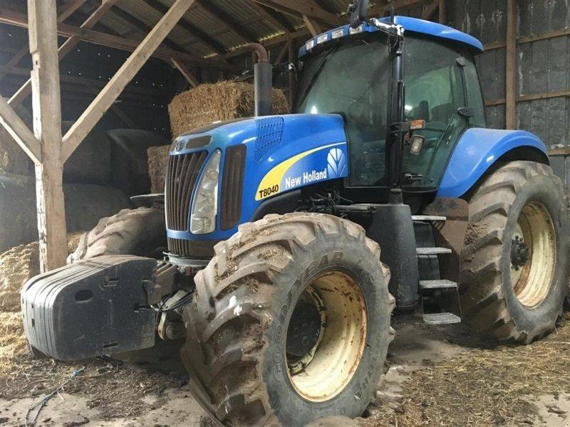 New holland t tg traktor spøttrup technikboerse