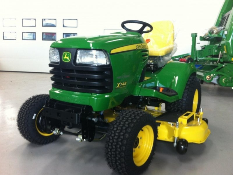 John deere x748 tracteur tondeuse - Tracteur tondeuse john deere occasion ...