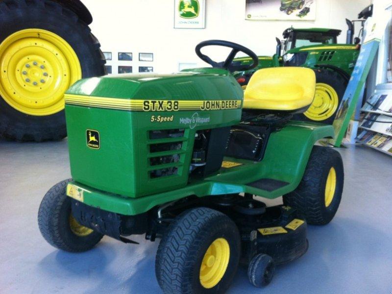 John Deere Stx 38 : Lawn tractor john deere stx technikboerse