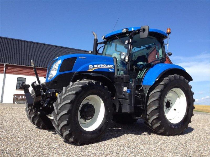 new holland t7 210 auto command dk model frontlift og vario tracteur