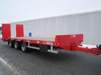 Oleo Mac 3 akslet maskintrailer Loaded Tieflader