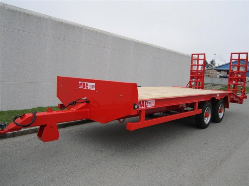 Sonstige 12 tons maskintrailer remorque porte char 5750 for Porte char 60 tonnes