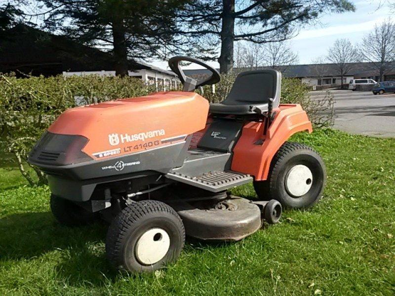 husqvarna lt 4140 g 4wd styring riding lawn mower. Black Bedroom Furniture Sets. Home Design Ideas