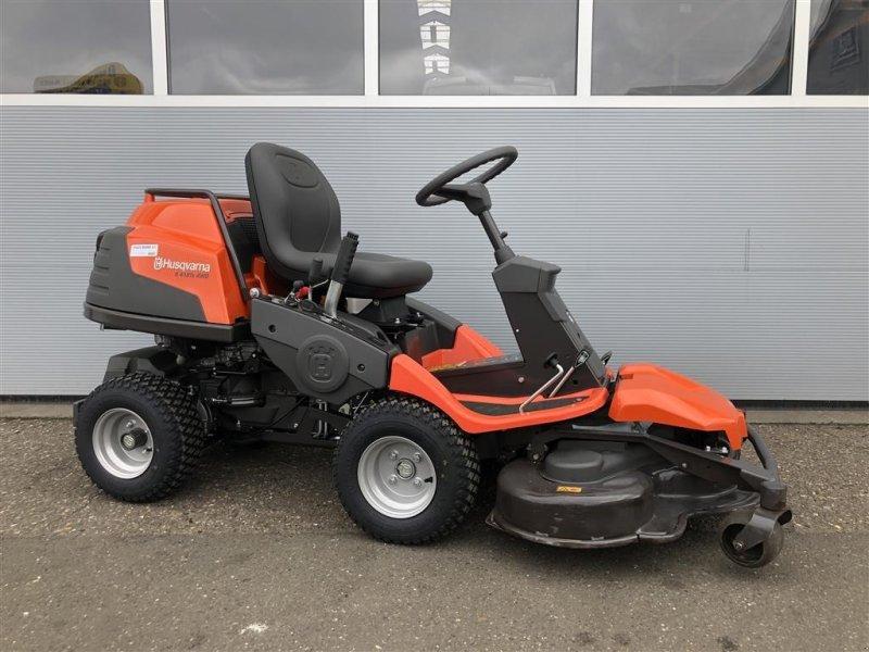 Husqvarna Rider R418Ts AWD Med demo 103 cm combi-klipper Riding lawn mower,  7500 Holstebro