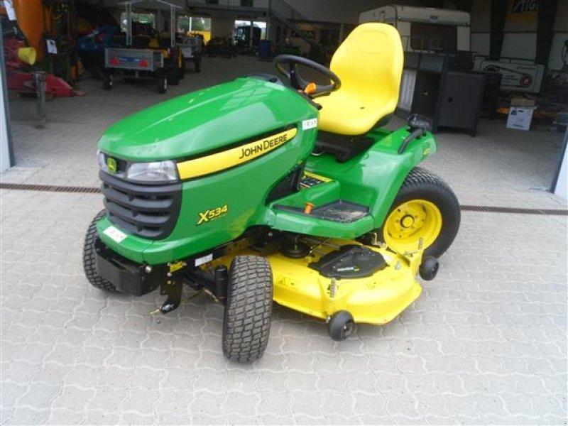 john deere x534 137cm tracteur-tondeuse