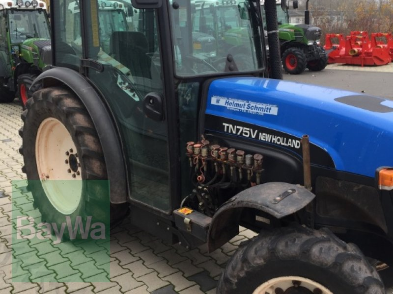 New Holland Orchard Tractors : New holland tn v orchard tractor volkach