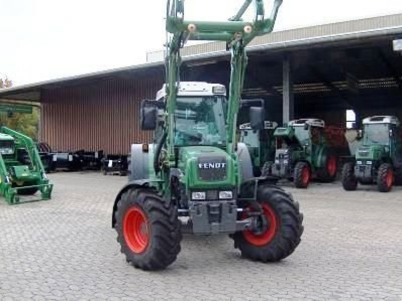fendt 209 s allrad mit frontlader traktor. Black Bedroom Furniture Sets. Home Design Ideas