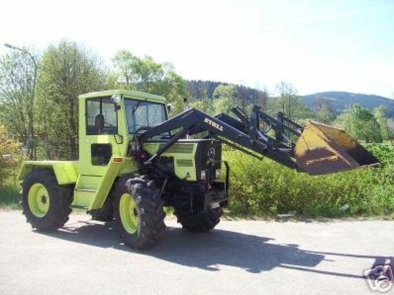 mercedes benz trac 700 s traktor mit frontlader schlepper. Black Bedroom Furniture Sets. Home Design Ideas