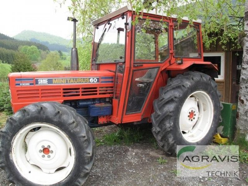 Tracteur same minitauro 60 dt