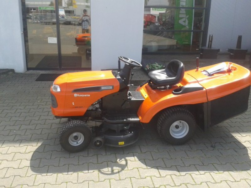 husqvarna ct 131 aufsitzm her riding mower