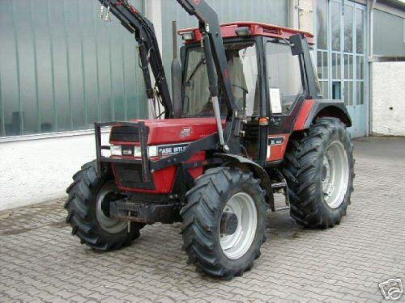 traktor case ih ihc 844 xl mit frontlader. Black Bedroom Furniture Sets. Home Design Ideas