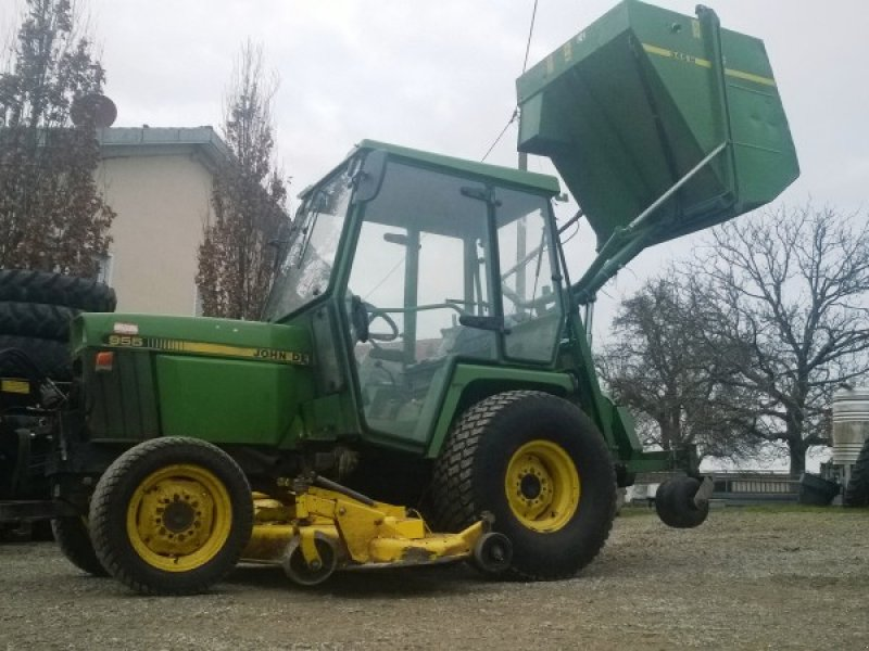 john deere 955 tracteur tondeuse. Black Bedroom Furniture Sets. Home Design Ideas