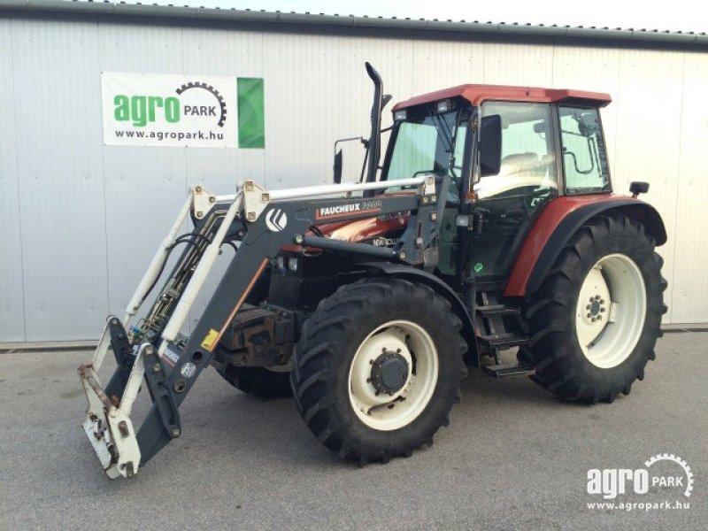 new holland ts110 schlepper mit frontlader 1999 traktor. Black Bedroom Furniture Sets. Home Design Ideas