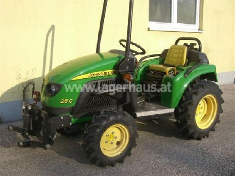 john deere milenio 25c allrad rasentraktor. Black Bedroom Furniture Sets. Home Design Ideas