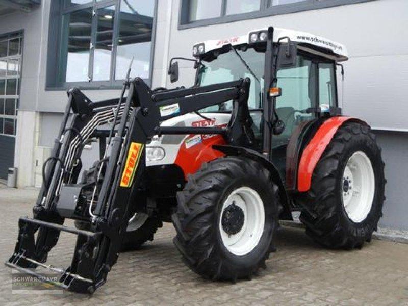 steyr kompakt 360a mit stoll hdpm 8 frontlader traktor. Black Bedroom Furniture Sets. Home Design Ideas