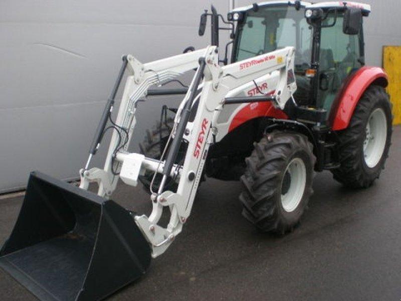 steyr kompakt 4065 s mit frontlader traktor. Black Bedroom Furniture Sets. Home Design Ideas