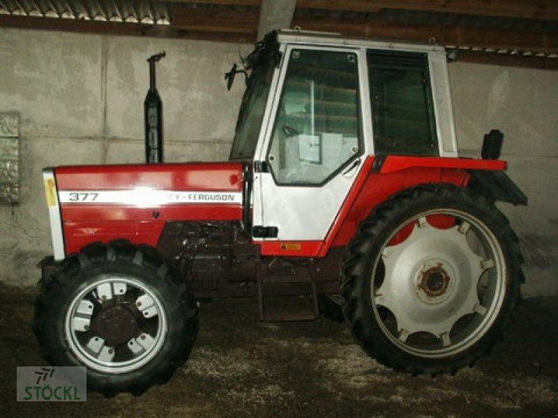 Tractor Challenger 377 : Massey ferguson allrad tractor technikboerse