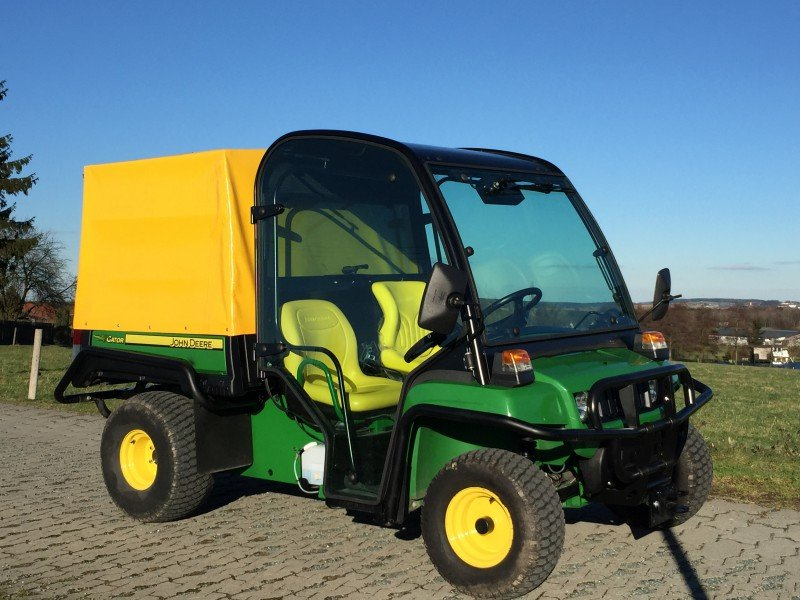 john deere gator te elektro vollausstattung traktor. Black Bedroom Furniture Sets. Home Design Ideas