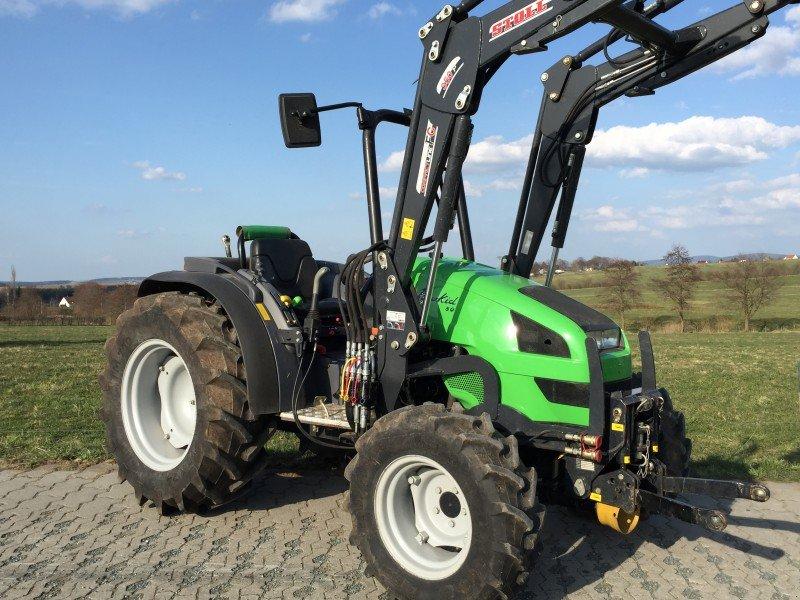 deutz fahr agrokid 230 inkl stoll frontlader traktor. Black Bedroom Furniture Sets. Home Design Ideas