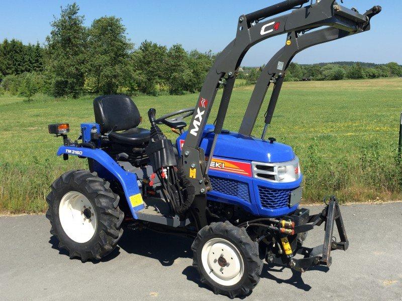 iseki 3160 frontlader fronthydraulik traktor. Black Bedroom Furniture Sets. Home Design Ideas