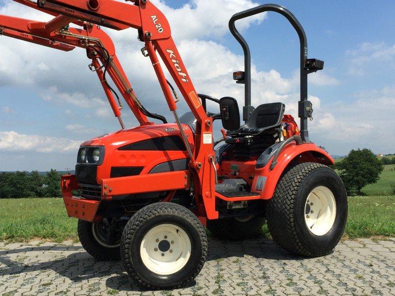 kioti ck 20 hst inkl frontlader traktor. Black Bedroom Furniture Sets. Home Design Ideas