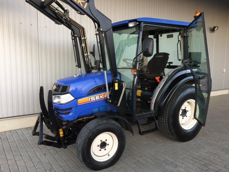 iseki 5390 powershift fronthydr frontlader traktor. Black Bedroom Furniture Sets. Home Design Ideas