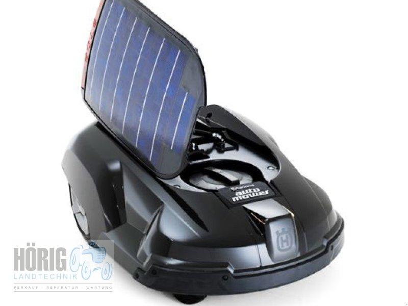 husqvarna solar hybrid rasenm her. Black Bedroom Furniture Sets. Home Design Ideas