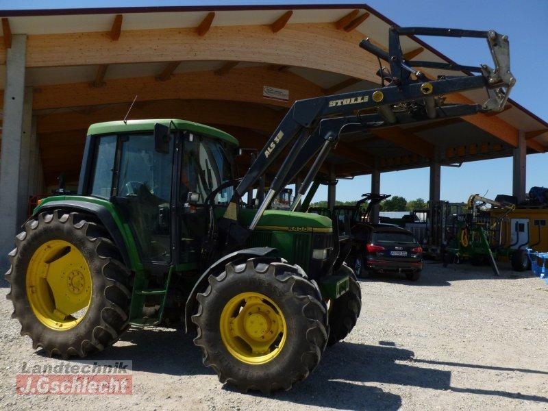 john deere 6400 mit frontlader traktor. Black Bedroom Furniture Sets. Home Design Ideas