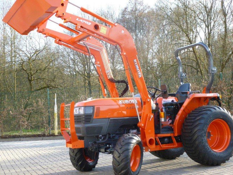 kubota l4100 hst buchens de tracteur communal  57462 olpe