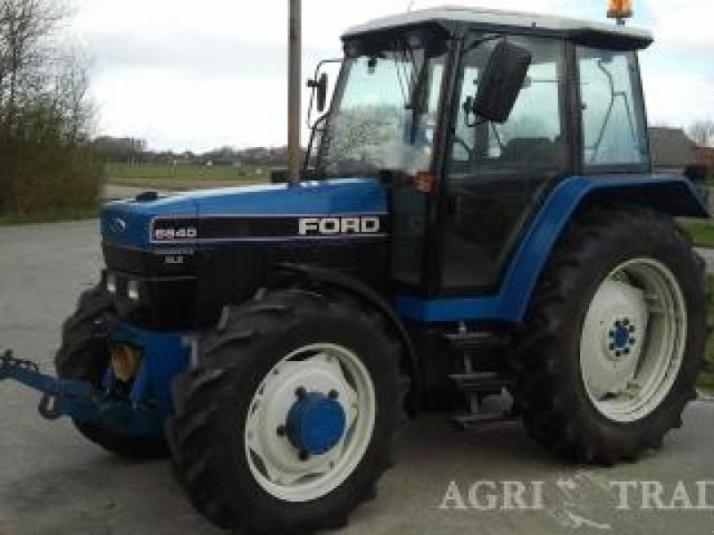 Ford Tractor Pto No 1962 : Ford sle fronthef pto tractor technikboerse