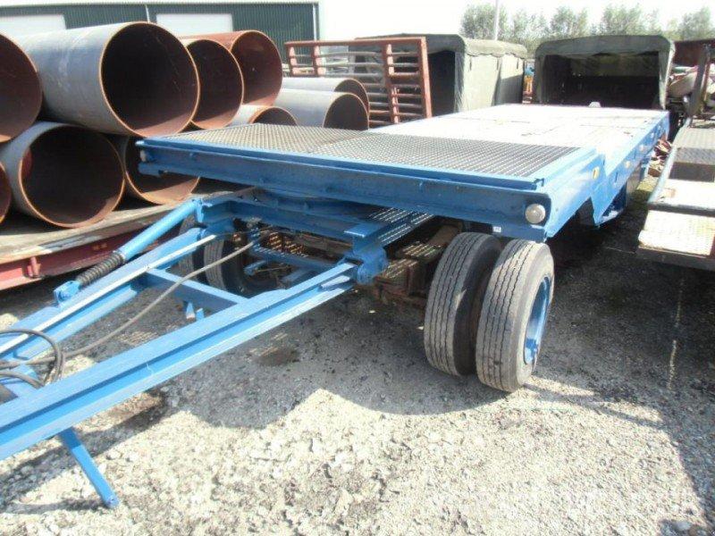Sonstige n3695 semie dieplader 16 ton remorque porte char for Porte char 60 tonnes