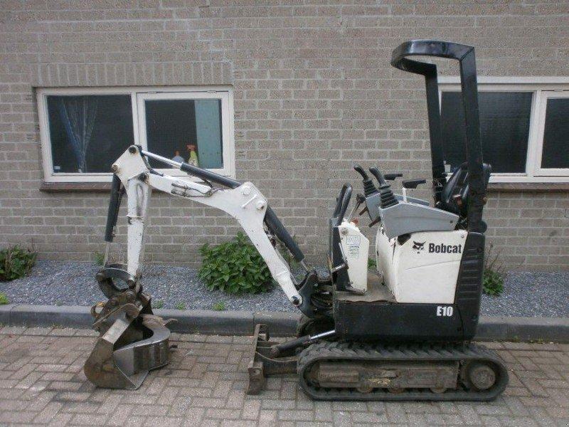 Bobcat E10 SERVOBEDIENING MINIGRAVER 3 CIL KUBOTA 2 Bakken Minibagger, 5231XB 's Hertogenbosch ...