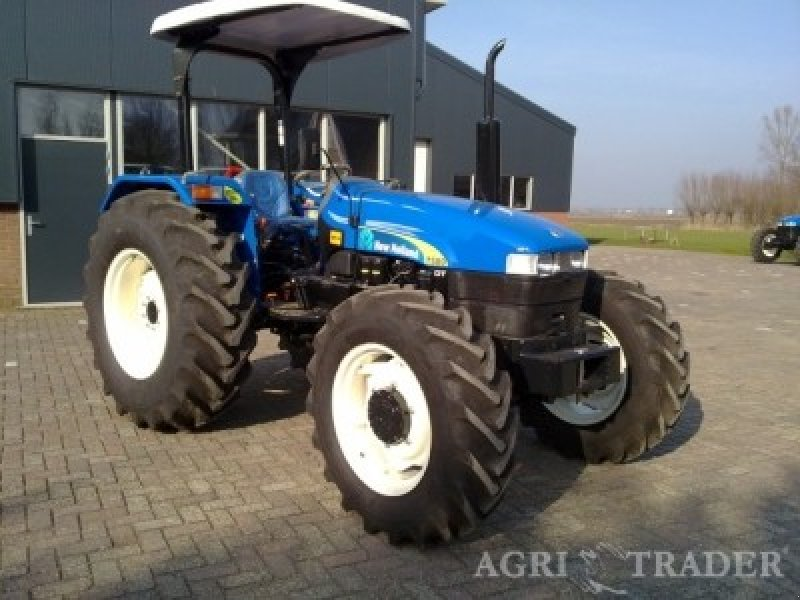 New Holland 75hp 4x4 Tractors : New holland tractor technikboerse