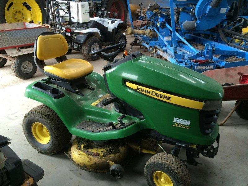 John deere x300 m 42 klipperbo tracteur tondeuse - Tracteur tondeuse john deere occasion ...