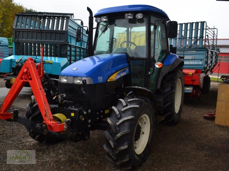 new holland td5010 mit fronthydraulik und frontzapfwelle wie case jx 60 traktor. Black Bedroom Furniture Sets. Home Design Ideas
