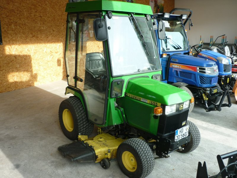 how to start a john deere 455