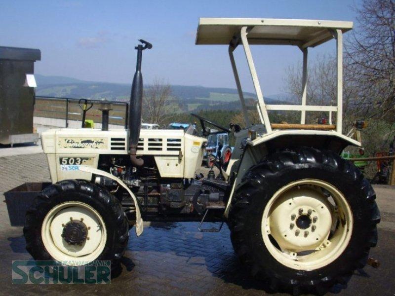 Tracteur Lamborghini R 503 Dt Terrain A Batir