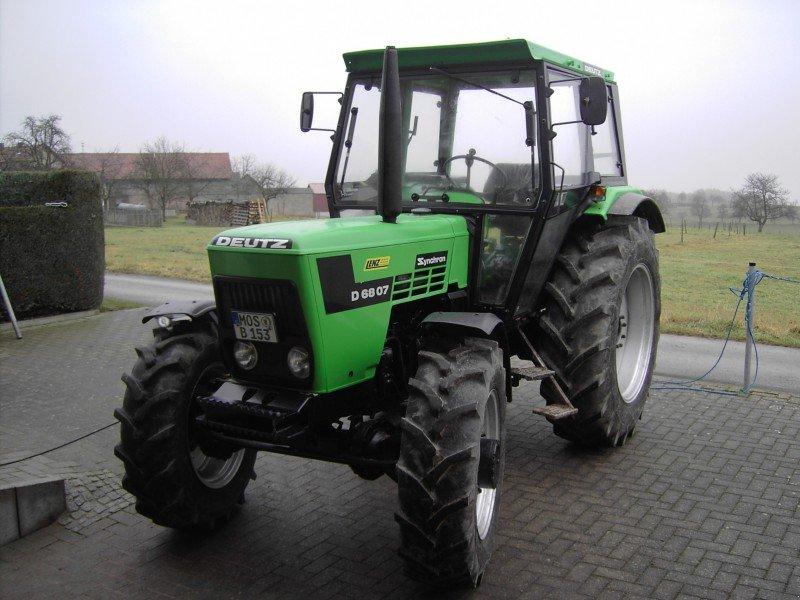 deutz-fahr d 6807 synchron tracteur