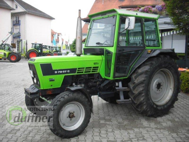deutz-fahr d 7207 c tracteur