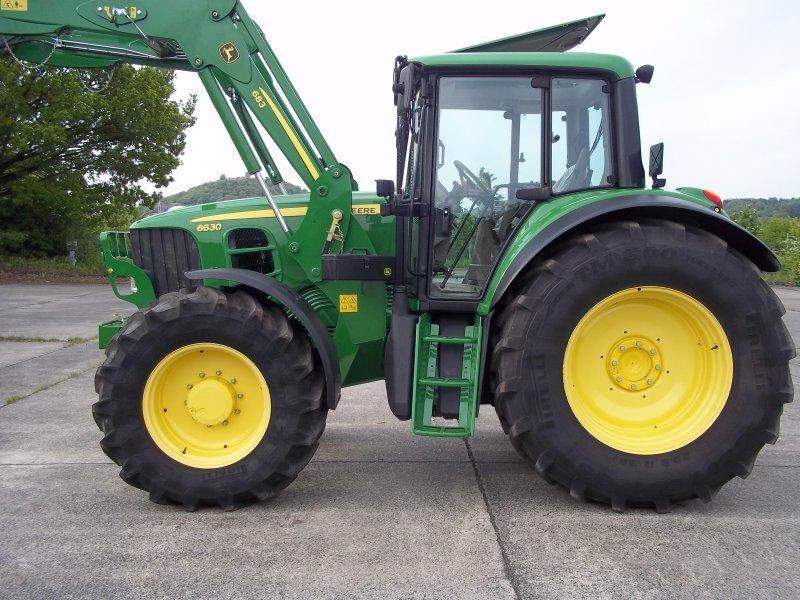 traktor john deere jd 6630 plus mit frontlader sonderpreis. Black Bedroom Furniture Sets. Home Design Ideas