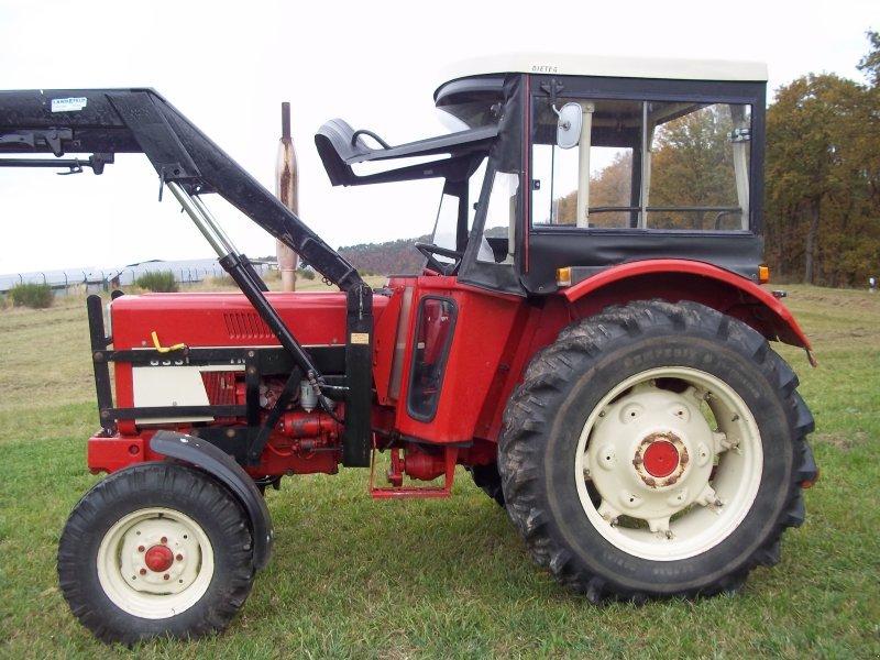 traktor case ih ihc 633 mit frontlader 2500 betr std. Black Bedroom Furniture Sets. Home Design Ideas