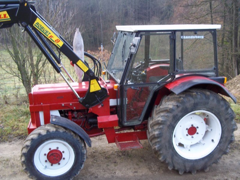 traktor case ih ihc 833 allrad mit neuw frontlader. Black Bedroom Furniture Sets. Home Design Ideas