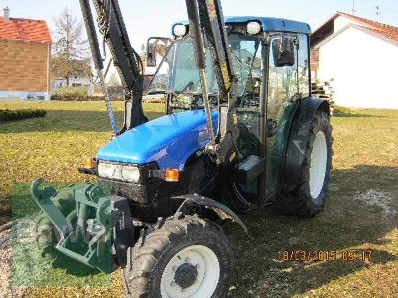 New Holland Orchard Tractors : New holland tn f orchard tractor technikboerse